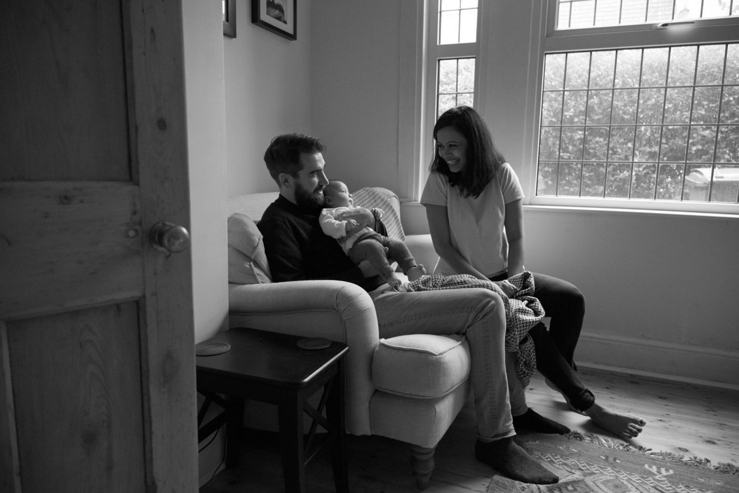 documentary baby family photography