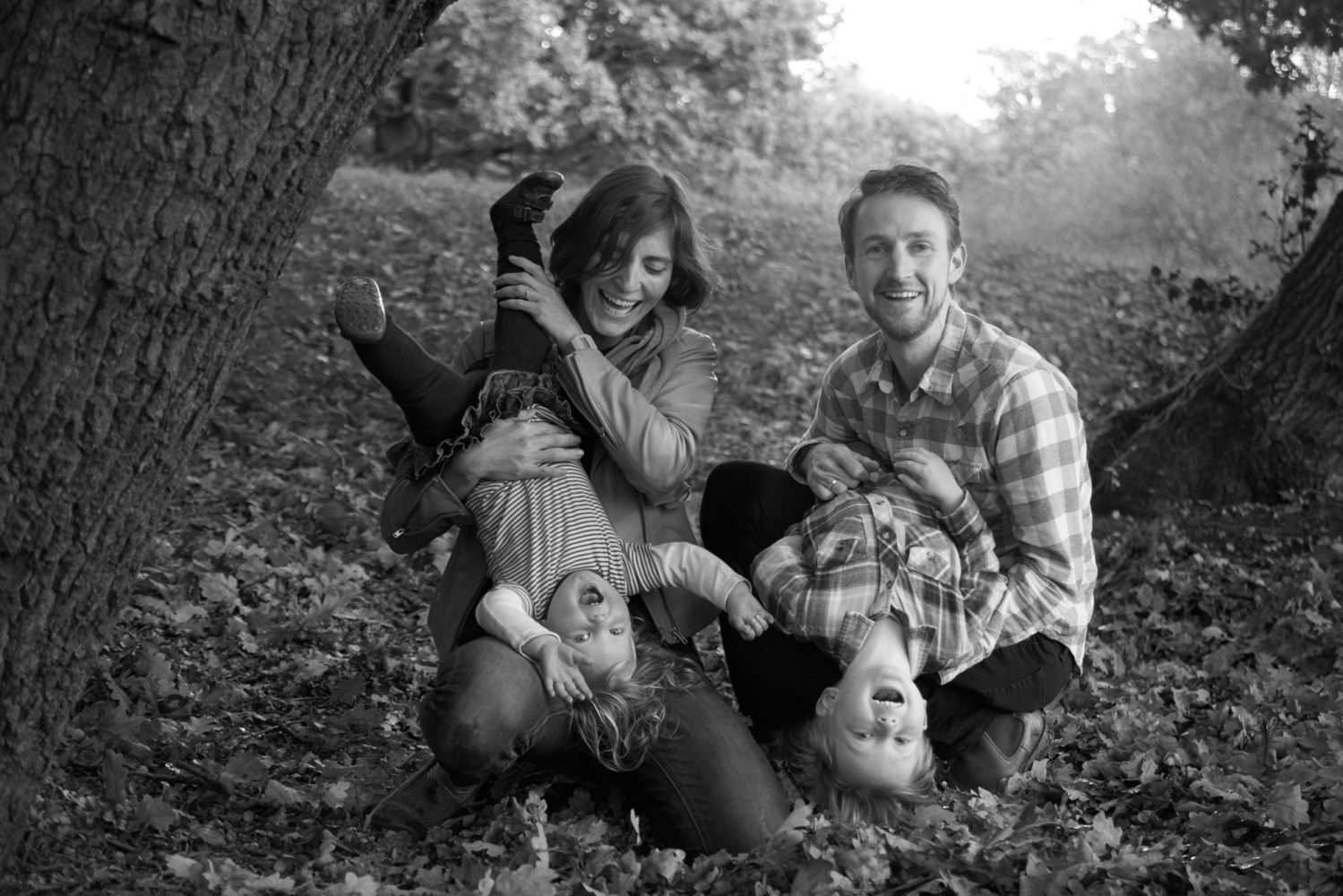 family photo shoot in London Epping Forest