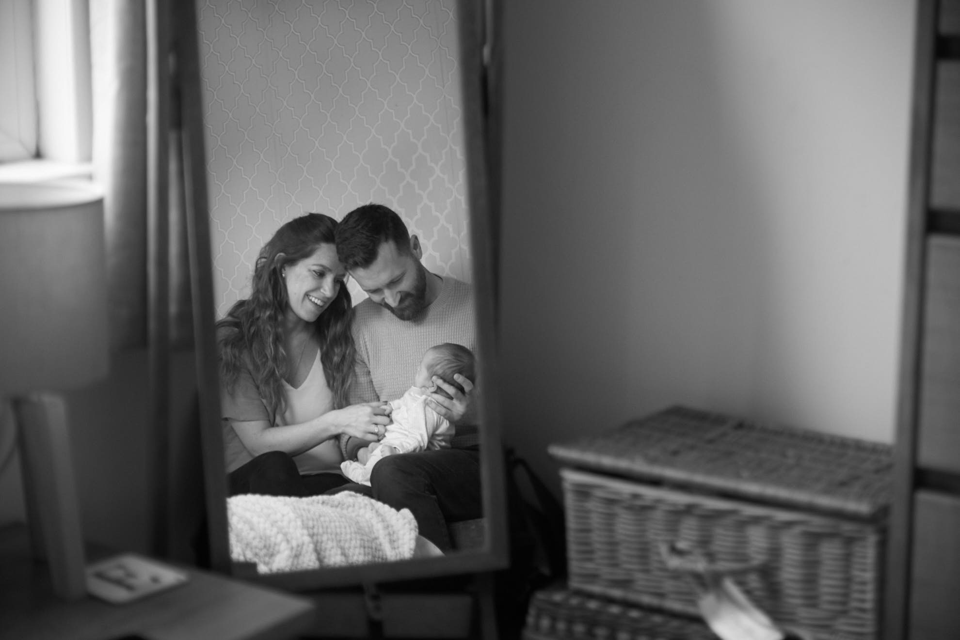 vintage baby photography in East London